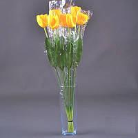 Тюльпан большой штучный NZ-5 (90 шт./ уп.) Искусственные цветы оптом, фото 1