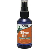 NOW Коллоидное серебро Silver Sol 118 ml