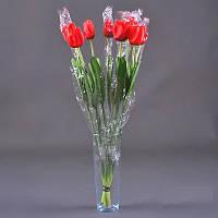 Тюльпан малый штучный, 60 см NZ - 4 (90 шт./уп.) Искусственные цветы оптом, фото 1