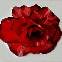 Голова розы гигант NR-24 (320 шт./ уп.) Искусственные цветы оптом, фото 1