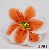 Лилия тигровая NJ-001 (50 шт./ уп.) Искусственные цветы оптом, фото 1