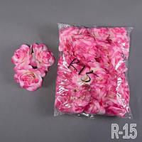 Роза NR-15 (50 шт./ уп.) Искусственные цветы оптом, фото 1