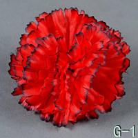 Гвоздика NG-1 (50 шт./ уп.) Искусственные цветы оптом, фото 1
