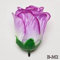 Бутон роза атласный NB-M2  (30 шт./ уп.) Искусственные цветы оптом, фото 1