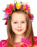 Детский карнавальный костюм Головной убор Девочки-эльфа