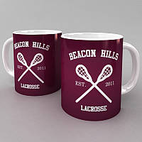 Чашка Beacon Hills 2 (Teen Wolf) белый