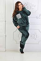 Женский модный костюм ЕО085(бат), фото 1
