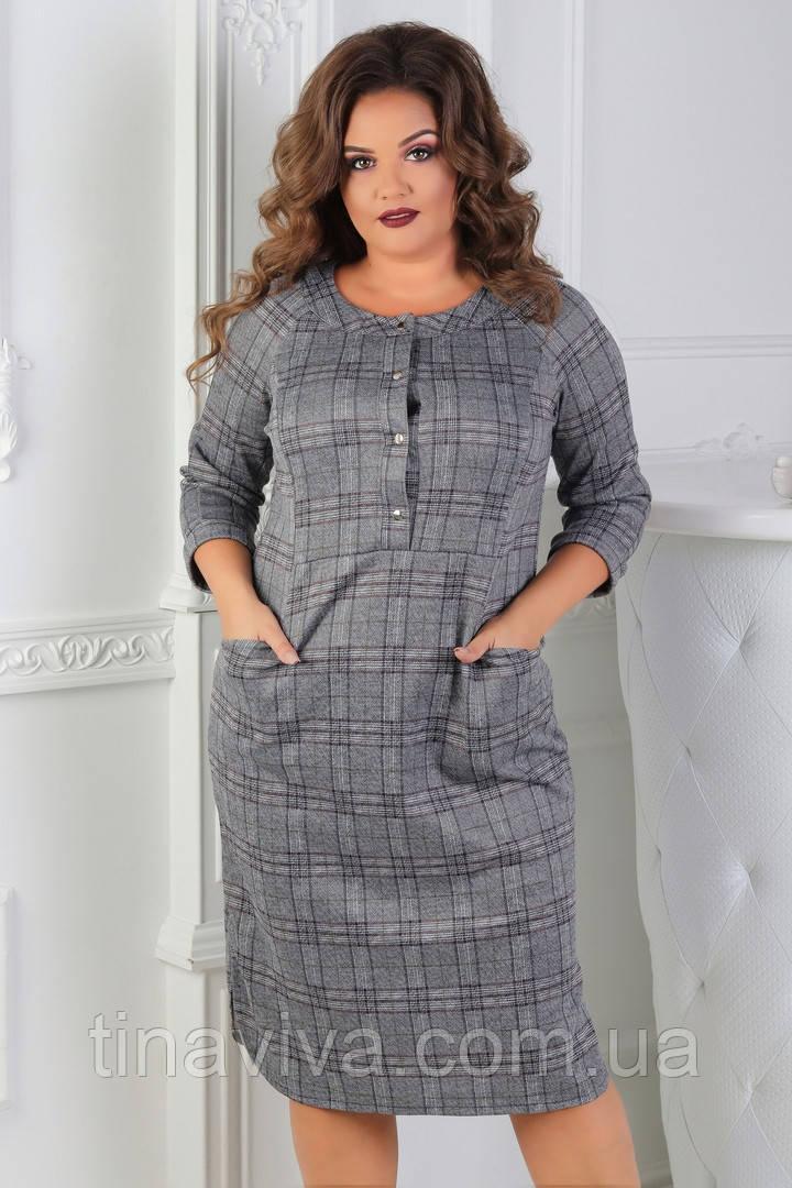 """Женское  платье большого размера """"Илона"""" (жіноче плаття ) баталл"""