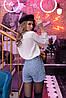 """Шорты """"высокая талия"""" в расцветках  04с510, фото 2"""
