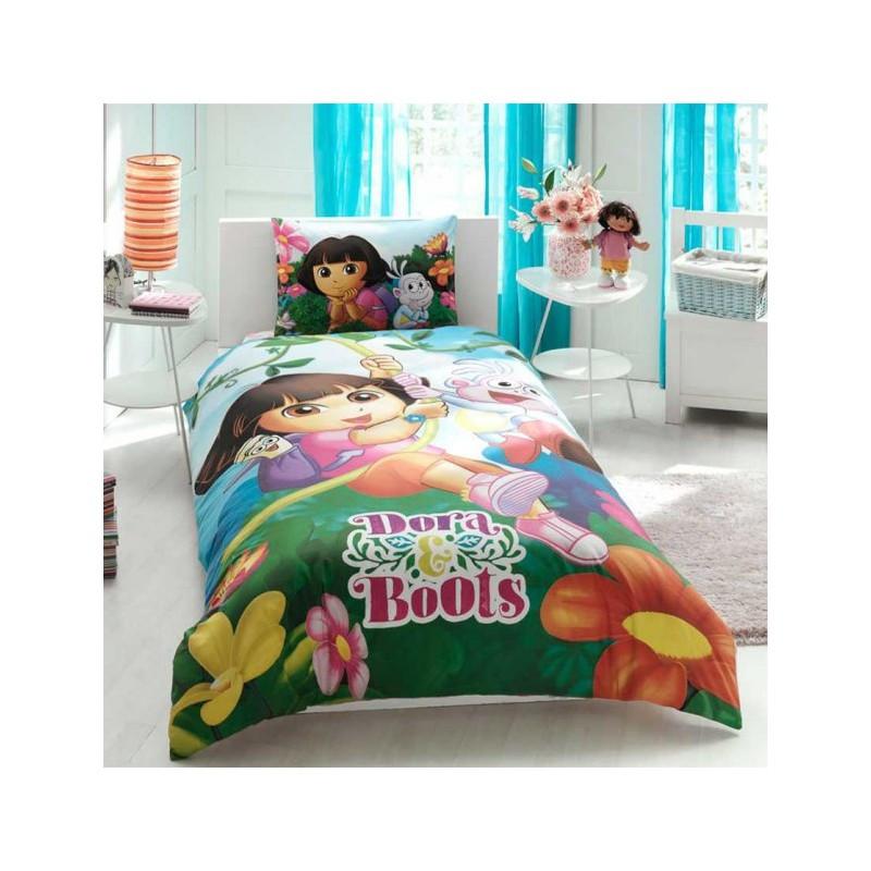 Постельное белье Tac Disney - Dora & Boots 160*220 подростковое