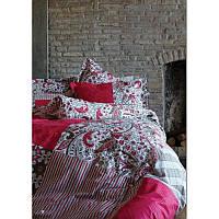 Постельное белье Karaca Home ранфорс - Vera розовый пано полуторное