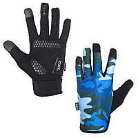 Green Cycle Rocker Велоперчатки с длинным пальцем синий S