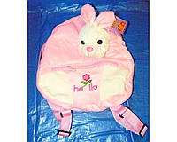 Мягкая игрушка- рюкзак Зайчик SP17125