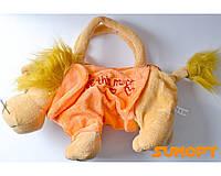 Мягкая игрушка- сумочка Лев №1518b1