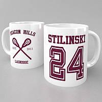 Чашка Stilinski 24 (Teen Wolf) белый