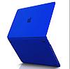 Чохол накладка Apple MacBook Pro 15 A1990 A1707 Touch with Bar, Touch ID 2018-2016 Захист синій