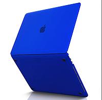 Чехол накладка Apple MacBook Pro 15 A1990 A1707 with Touch Bar, Touch ID 2018-2016 Защита синий