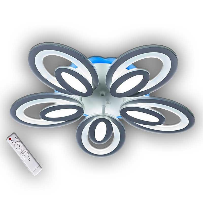Люстра «Атенс 5WH LED dimmer» белая DS-12560/5WH LED dimmer