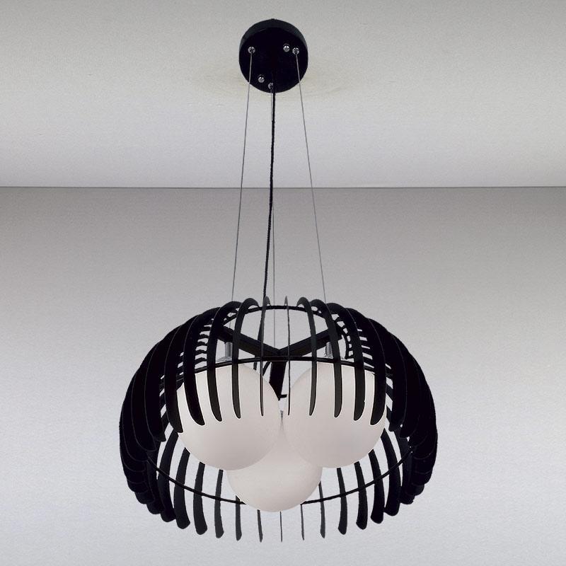 Люстра LS-11026-3 черная