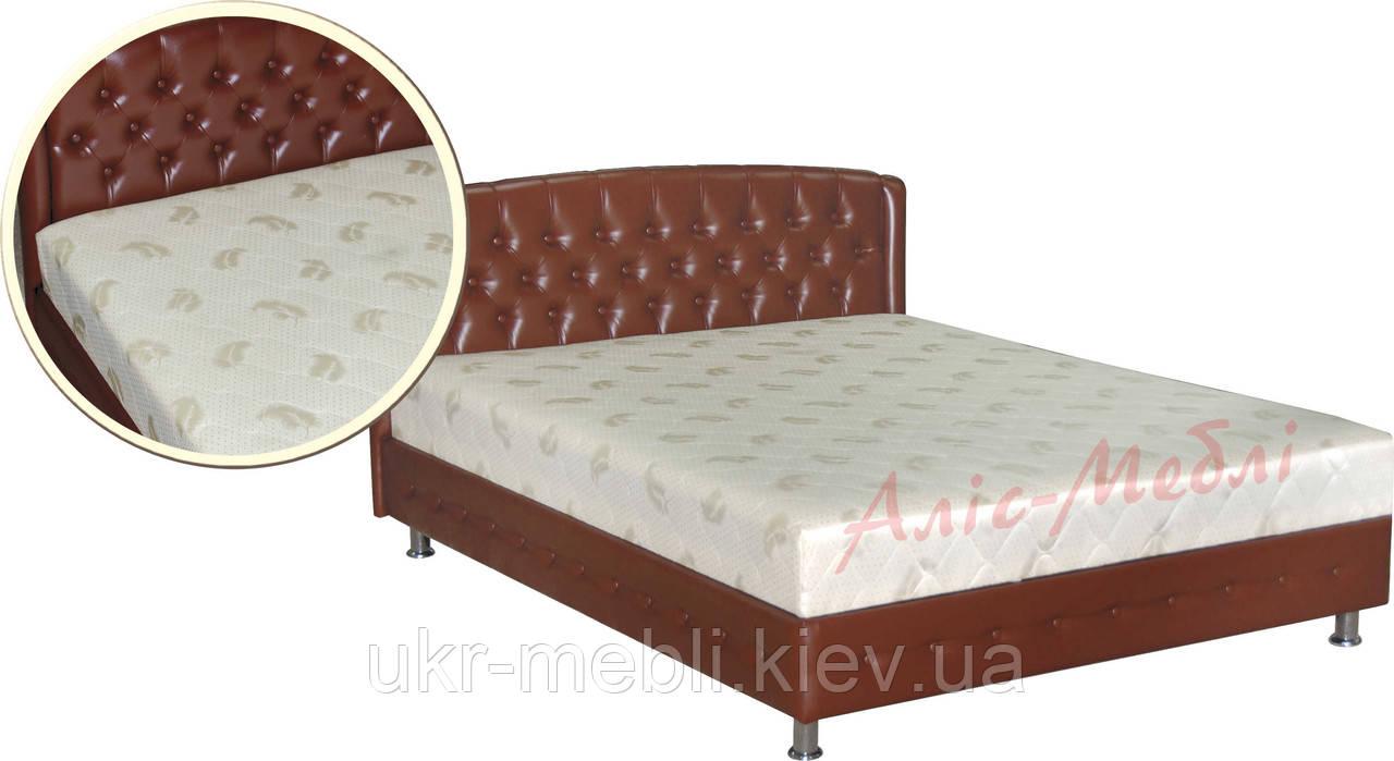 Кровать двуспальная Монсерат 160, Алис-м