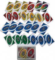 Карточная игра Uno DN32408, разноцветный