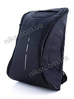 Рюкзак антивор городской, для ноутбука c USB Superbag, черный, фото 1