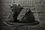 Чоловічі кросівки Nike Air Jordan 13 altitude green (Топ якість), фото 3