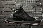 Чоловічі кросівки Nike Air Jordan 13 altitude green (Топ якість), фото 4