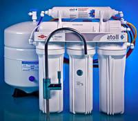 Система обратного осмоса, пятиступенчатая с минирализатором, ATOLL, A-560Em (A-550m STD)