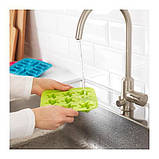 ИКЕА ПЛАСТИС Формочка для льда, красный/зеленый, бирюзовый, фото 2