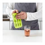 ИКЕА ПЛАСТИС Формочка для льда, красный/зеленый, бирюзовый, фото 3