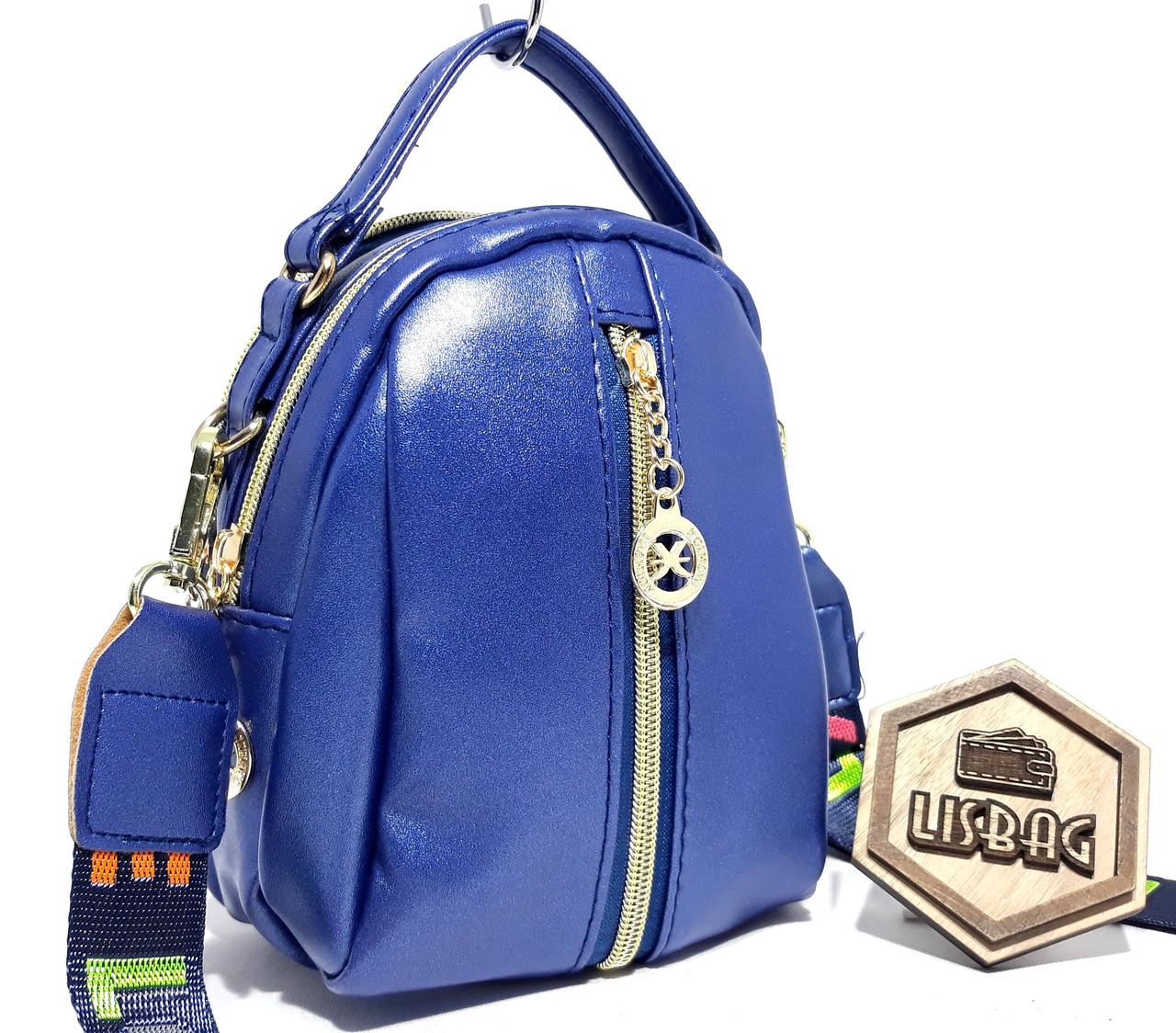 cc6dc58c47e4 ... Синяя перламутровая женская маленькая сумка-чемоданчик, Новинка, фото 10