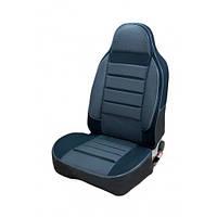 Чехлы на сиденья Рено Кенго (Renault Kangoo) (1+1, универсальные, автоткань, пилот)