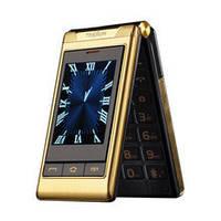Раскладной телефон TKEXUN G10 Gold Black