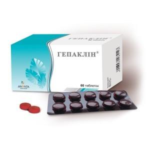БАД Гепаклин -  при приеме токсичных для печени лекарств: антибиотиков и содержащих парацетомол