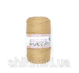 Трикотажный полипропиленовый шнур PP Macrame, цвет Карамель