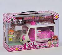 """Набір лялька LOL """"Пересувна закусочна"""" 2 ляльки"""