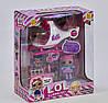 L. O. L. Surprise Лялька LOL 2 ляльки і вертоліт