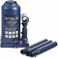 Домкрат гидравлический бутылочный телескопический, 4 т, h подъема 170–420 мм STELS (51116)
