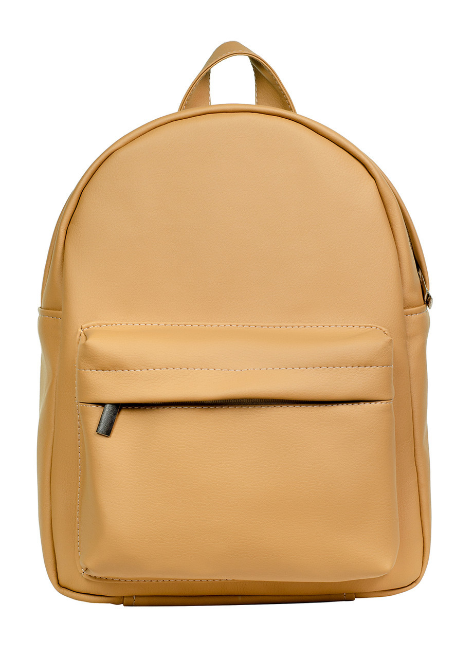Стильный женский рюкзак бежевый SamBag разные размеры 11411026