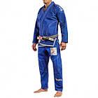 Кимоно для Бразильского Джиу-Джитсу GR1PS Armadura 2.0 Camo Edition Синее, фото 2