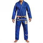 Кимоно для Бразильского Джиу-Джитсу GR1PS Armadura 2.0 Camo Edition Синее, фото 3