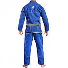Кимоно для Бразильского Джиу-Джитсу GR1PS Armadura 2.0 Camo Edition Синее, фото 5
