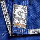 Кимоно для Бразильского Джиу-Джитсу GR1PS Armadura 2.0 Camo Edition Синее, фото 8