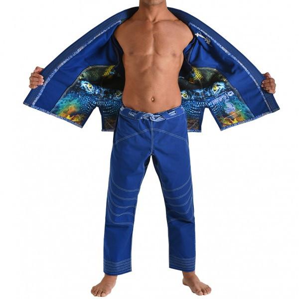 Кимоно для Бразильского Джиу-Джитсу GR1PS Armadura Синее