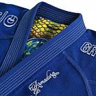 Кимоно для Бразильского Джиу-Джитсу GR1PS Armadura Синее, фото 7
