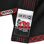 Кимоно для Бразильского Джиу-Джитсу GR1PS Cali 99 Черное, фото 9