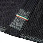 Кимоно для Бразильского Джиу-Джитсу GR1PS The Italian Черное, фото 7