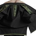 Кимоно для Бразильского Джиу-Джитсу GR1PS Classic Черное с зеленым, фото 5