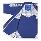Кимоно для Бразильского Джиу-Джитсу GR1PS Classic Синее с белым, фото 6